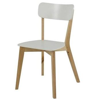 Drewniane krzesło Adan - naturalne