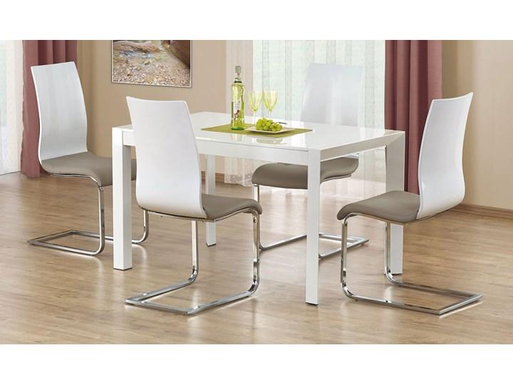 Rozkładany stół Staner 3X Szerokość 80 cm Wysokość 76 cm Długość 130 cm  Płyta laminowana Stal Kategoria Stoły kuchenne