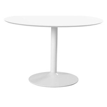 Okrągły stół Toledo - biały