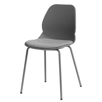 Wygodne krzesło Effi 2X - szare