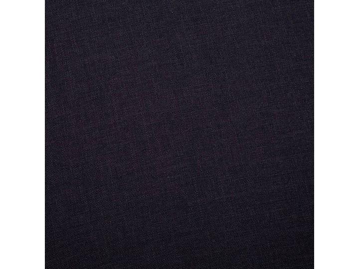 Elegancka trzyosobowa sofa Williams 3X - czarna Stała konstrukcja Szerokość 82 cm Typ Gładkie