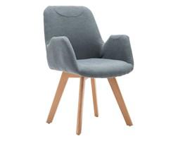 fotel wypoczynkowy do salonu marvin - popielaty