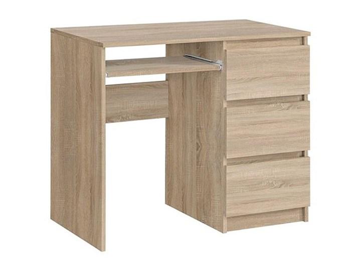 Nowoczesne biurko Luvio - dąb sonoma Głębokość 50 cm Biurko tradycyjne Biurko komputerowe Szerokość 90 cm Kategoria Biurka