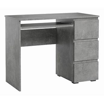 Nowoczesne biurko Luvio - beton