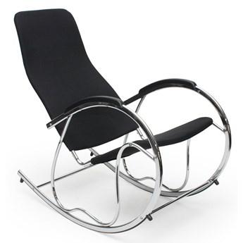 Bujany fotel do salonu Belix - czarny
