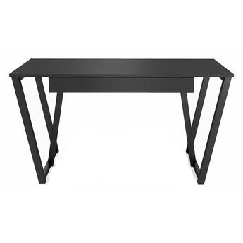 Czarne biurko młodzieżowe Molly 3X
