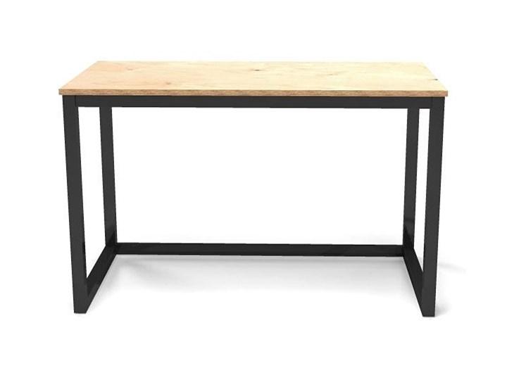 Minimalistyczne biurko drewniane Inelo T3 Drewno Kolor Beżowy Głębokość 50 cm Szerokość 100 cm Biurko tradycyjne Styl Industrialny
