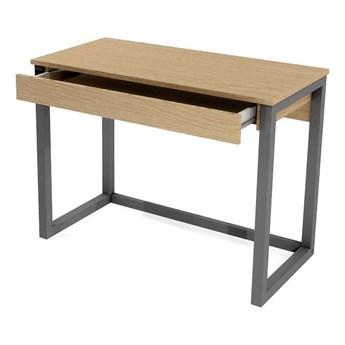 Drewniane biurko z szufladą Inelo X9