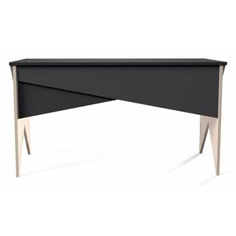 Nowoczesne czarne biurko Carlos