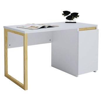 Skandynawskie biurko z szafką Inelo X4