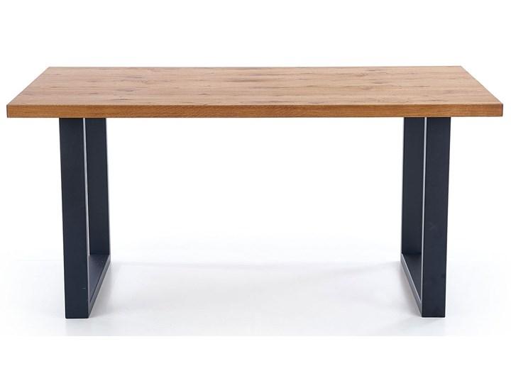 Duży rozkładany stół industrialny Marco 2X Drewno Szerokość 90 cm Długość 90 cm  Wysokość 76 cm Kształt blatu Prostokątny