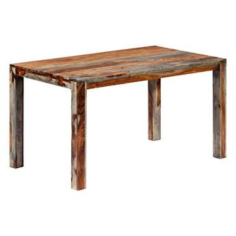 Stół z drewna sheesham Vidal 2X – szary