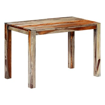 Stół z drewna sheesham Vidal – szary