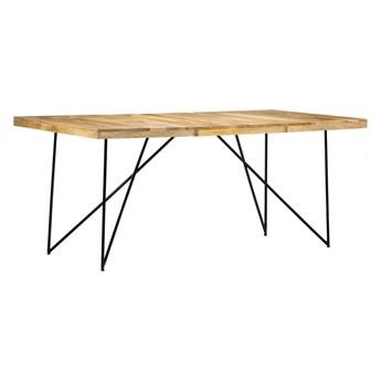Stół industrialny z drewna mango Namir – naturalny