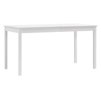 Stół minimalistyczny jadalniany Elmor 2X – biały