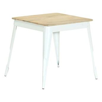 Stół z drewna mango Wamis – biały