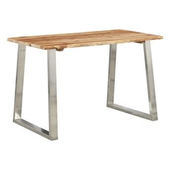 Stół industrialny jadalniany drewniany Eluwin 4X – brązowy