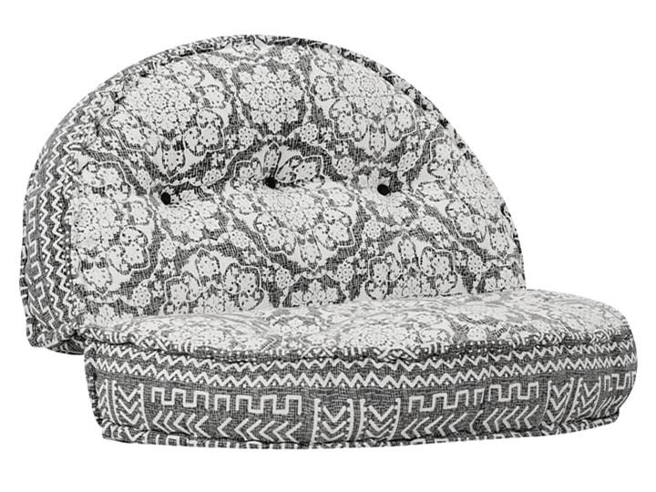 Materiałowa sofa Dina - ażurowa Głębokość 120 cm Modułowe Szerokość 120 cm Styl Vintage Rozkładanie Rozkładana