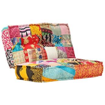 Kwadratowa piankowa sofa Gina - patchwork