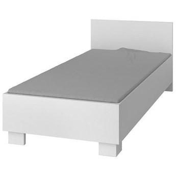 Pojedyncze łóżko jednoosobowe bez pojemnika Florentino 15X - białe
