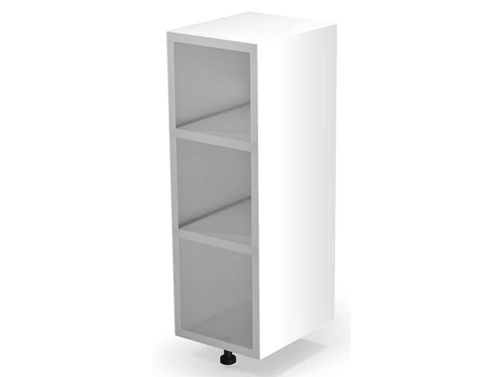 Kuchenna szafka dolna Limo 4X - biała Płyta MDF Kolor Biały