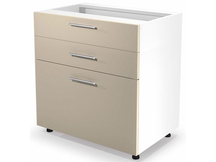Kuchenna szafka dolna z szufladami Limo 11X - beż połysk