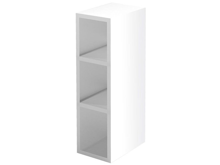 Kuchenna szafka górna Limo 18X - biała Płyta MDF Regał Kolor Biały Kategoria Szafki kuchenne