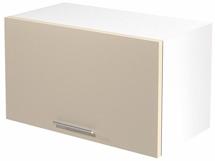 Kuchenna szafka górna okapowa Limo 29X - jasny beż połysk Kolor Beżowy Płyta MDF Szafka wisząca Kategoria Szafki kuchenne