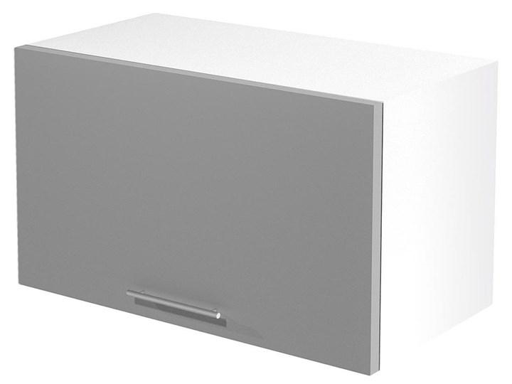 Kuchenna szafka górna okapowa Limo 29X - jasny popiel połysk