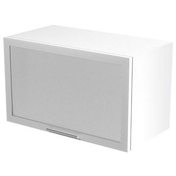 Kuchenna szafka górna okapowa z witryną Limo 30X - biała
