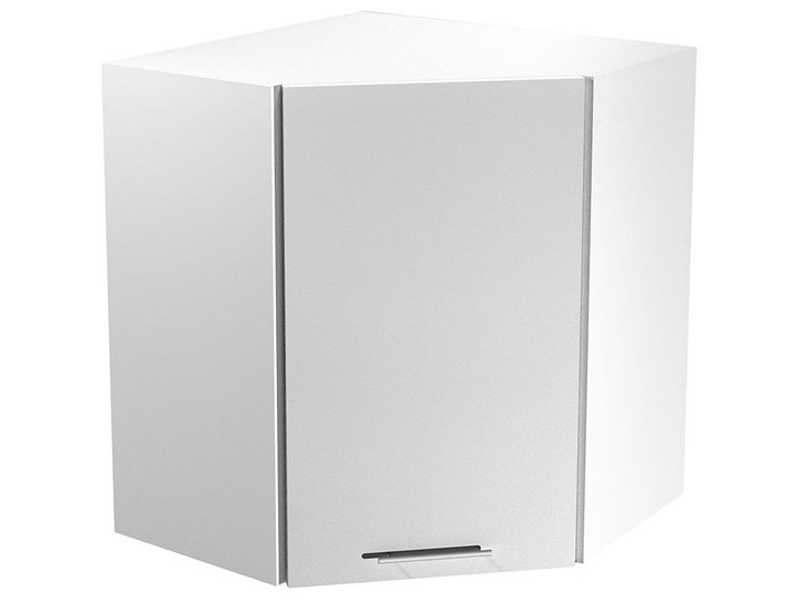 Kuchenna szafka górna narożna Limo 32X - biały połysk