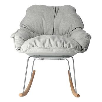 Bujany fotel Naarx - szary