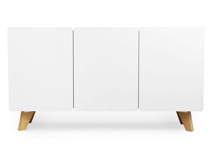 Skandynawska komoda z półkami Larso 3X Z szafkami Pomieszczenie Pokój nastolatka