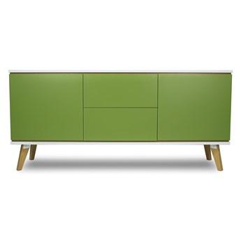 Komoda w stylu skandynawskim Verso 2X - Zielony