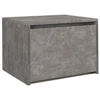 Industrialna szafka nocna Reja - beton
