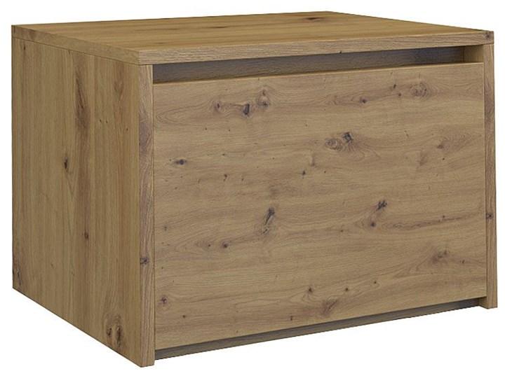 Loftowa szafka nocna Reja - dąb artisan