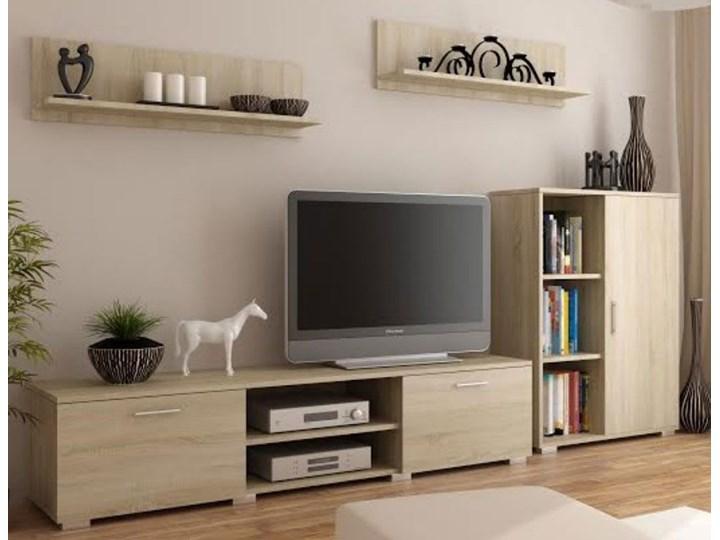 Zestaw mebli - Meblościanka Pixelo 6X dąb sonoma Kategoria Zestawy mebli do sypialni Kolor Beżowy