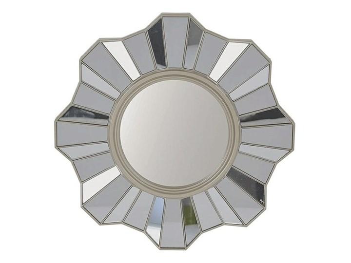 Lustro w stylu glamour Silia - okrągłe