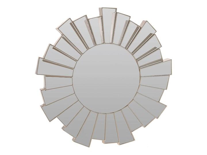 Glamour lustro Meluria - okrągłe Lustro bez ramy Ścienne Pomieszczenie Przedpokój