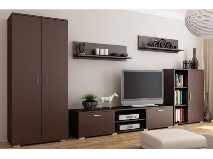 Meblościanka do salonu Pixelo 4X - wenge Kategoria Zestawy mebli do sypialni