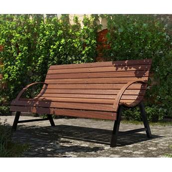 Ławka ogrodowa drewniana Wagris 170 cm