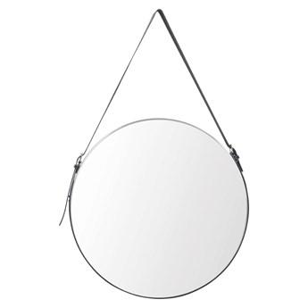 Okrągłe lustro Delina - czarne