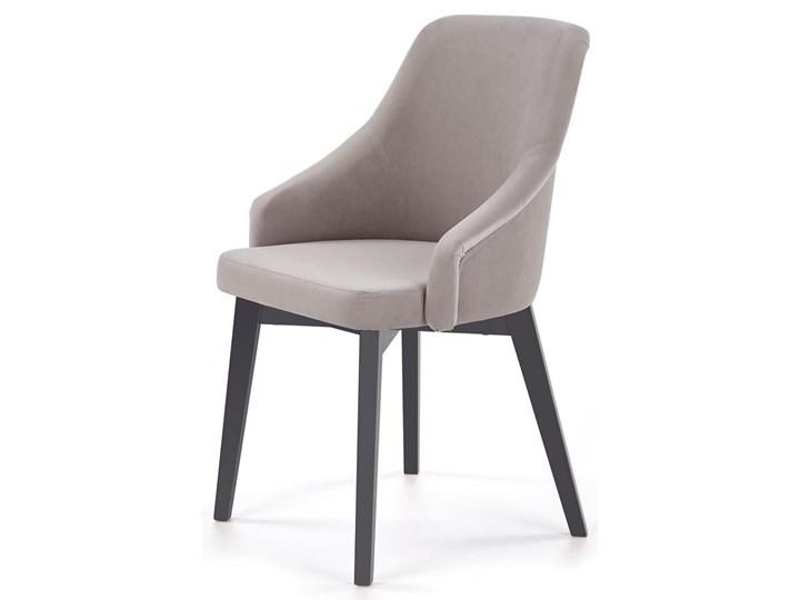 Krzesło drewniane Altex 2X - antracyt + dąb grafitowy