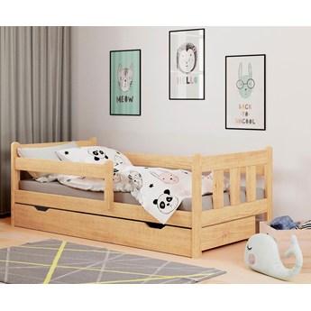 Łóżko do pokoju dziecięcego Kacper - sosna