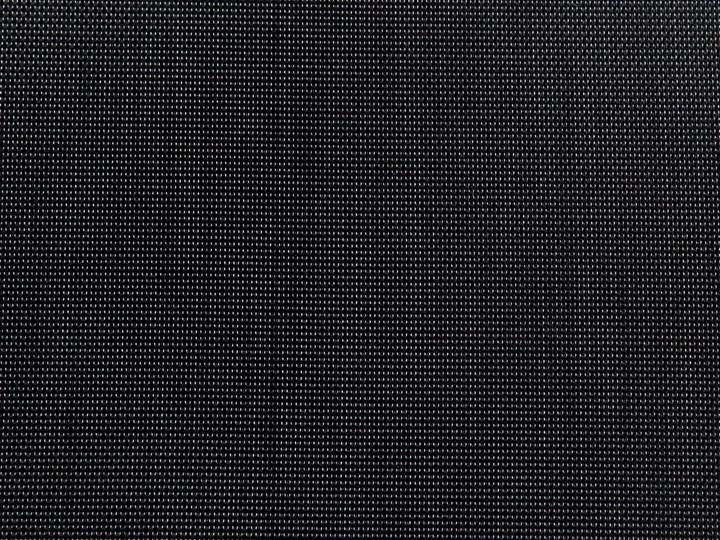 Zestaw mebli ogrodowych jadalniany czarny palony stół granit/bazalt 180 x 90 cm 6 krzeseł tekstylnych sztaplowanych Stoły z krzesłami Styl Nowoczesny Stal Tworzywo sztuczne Kategoria Zestawy mebli ogrodowych