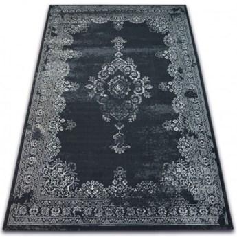 DYWAN CZARNY WZÓR SZARY WYBIERZ ROZMIAR CASCO ANTIGUO BLACK GREY  80x150cm