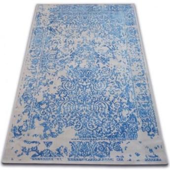DYWAN SZARY WZÓR NIEBIESKI WYBIERZ ROZMIAR CASCO ANTIGUO NO 2 GREY BLUE 120x170cm