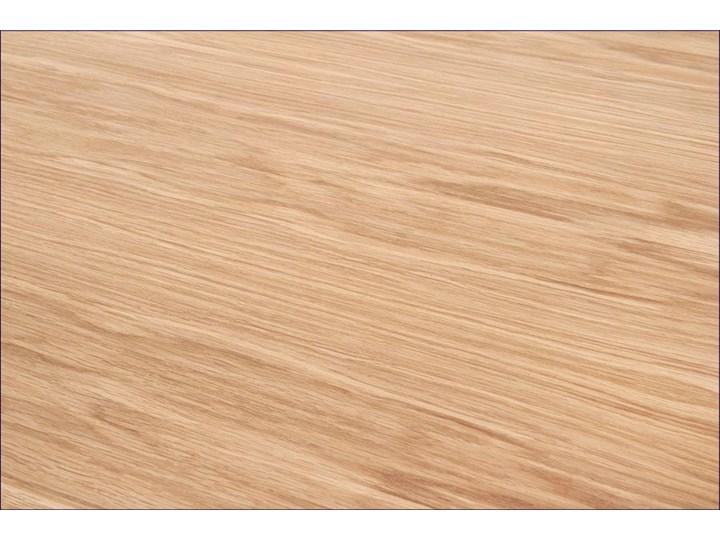 Rozkładany stół w stylu loft do jadalni Lopez 2X 140 XL - dąb Styl Minimalistyczny Wysokość 76 cm Szerokość 140 cm Drewno Szerokość 85 cm Długość 140 cm  Rozkładanie