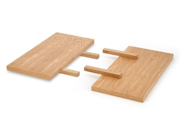 Rozkładany stół w stylu loft do jadalni Lopez 2X 140 XL - dąb Drewno Szerokość 140 cm Szerokość 85 cm Styl Minimalistyczny Długość 140 cm  Wysokość 76 cm Pomieszczenie Stoły do jadalni