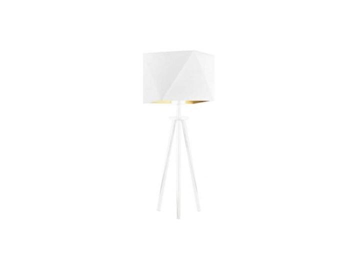 Klasyczna lampa stołowa ROSE ELEGANT abażur diament Lampa z abażurem Wysokość 17 cm Wysokość 50 cm Lampa nocna Styl Nowoczesny